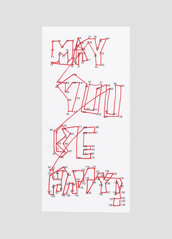 Illustration »May you be Happy!«